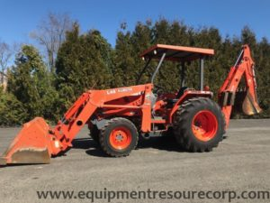 **SOLD** 2003 Kubota L48 Backhoe Loader- $27,900.00