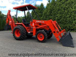2003 Kubota L35 Backhoe Loader- $20,750.00