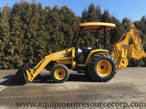 **SOLD** 2003 John Deere 110 Backhoe Loader- $26,500.00